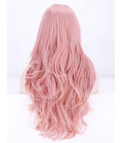 Pink Wig Rose Gold