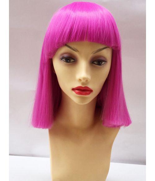 Pink Wig Short Magenta