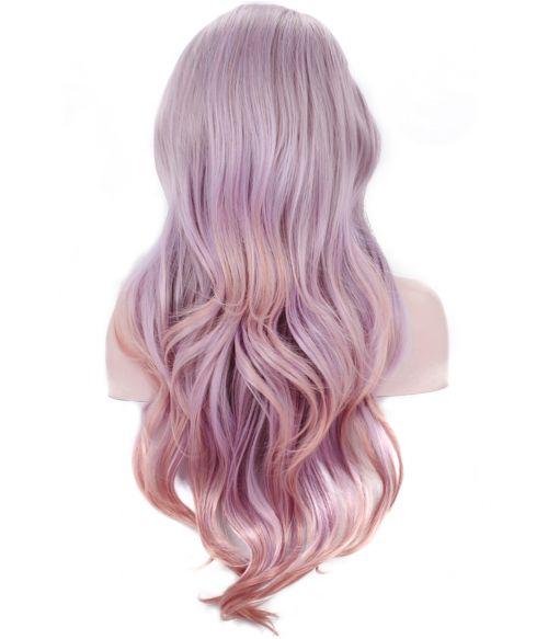 Purple Lace Front Wig Lavender