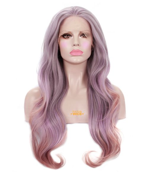Purple Ombre Wig Lace Front