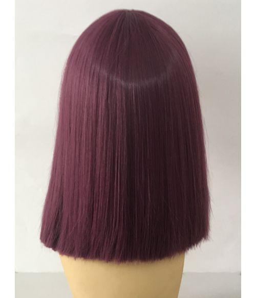 Purple Wig Medium Length Straight