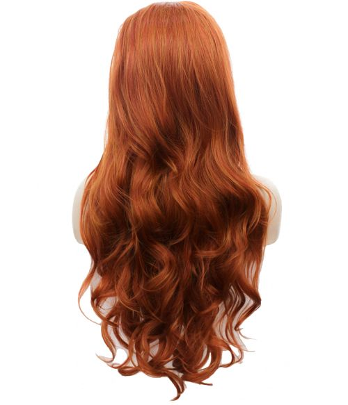 Red Lace Front Wig Ginger