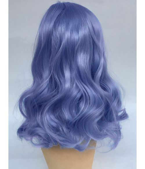 Rockabilly Wig Blue Curly