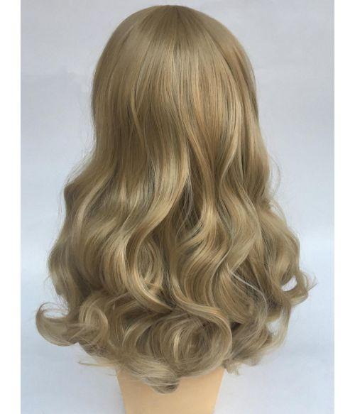 Vintage Wig Curly Blonde