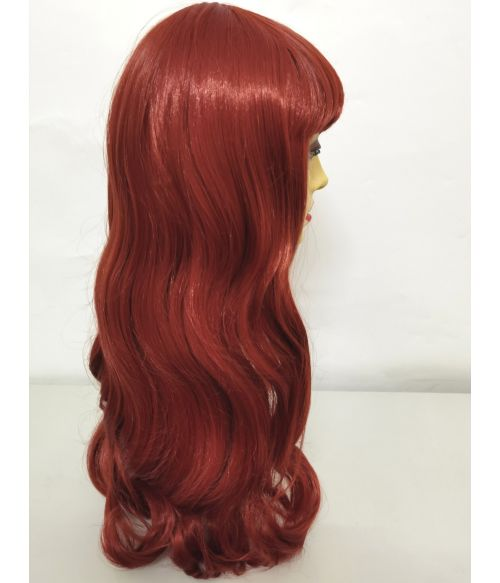 Vintage Wig Red Pin Up