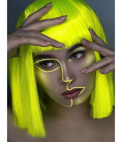 Yellow Wig Bob